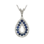 diamond-sapphire-pendant-fred-meyer-jewelers