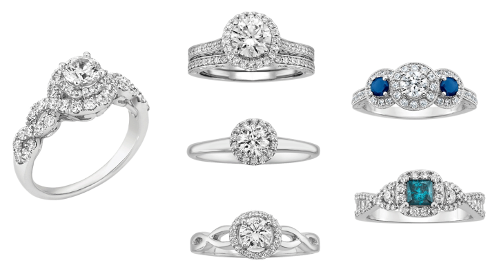 Halo Rings Fred Meyer Jewelers