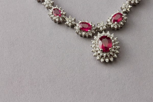Ruby Pendant Fred Meyer Jewelers