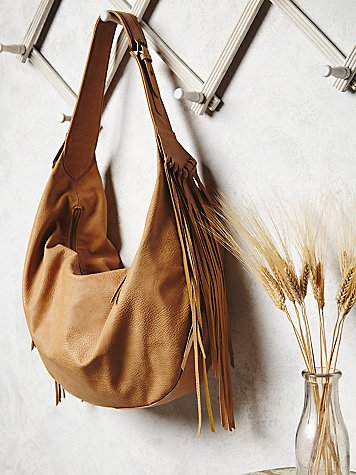 Wild Heart Vegan Hobo, $78; freepeople.com